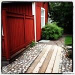Stenläggning med plank - sett hos styleroom