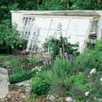 Trädgårdstäppa - örtträdgård - köksträdgård Sett hos vi i villa nr 5 2013