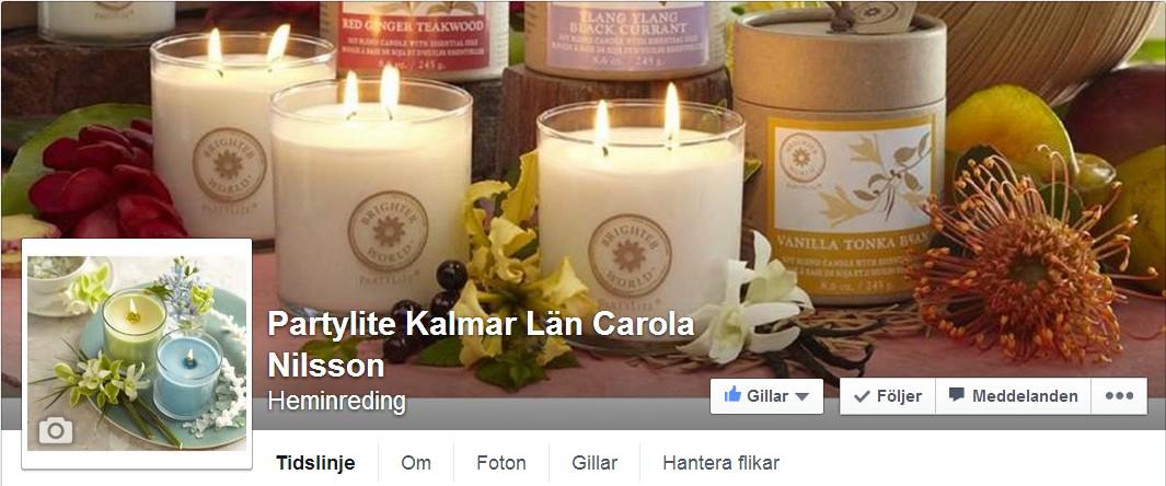 PartyLite FB carola Nilsson