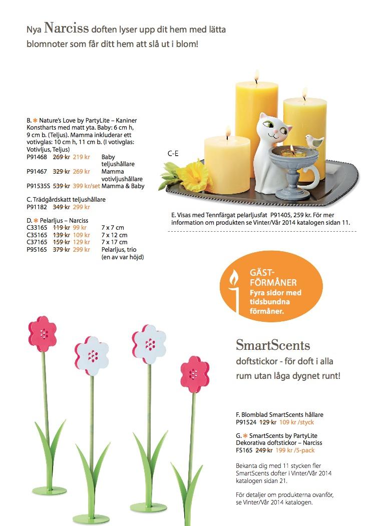 Partylite erbjudande mars3 2014