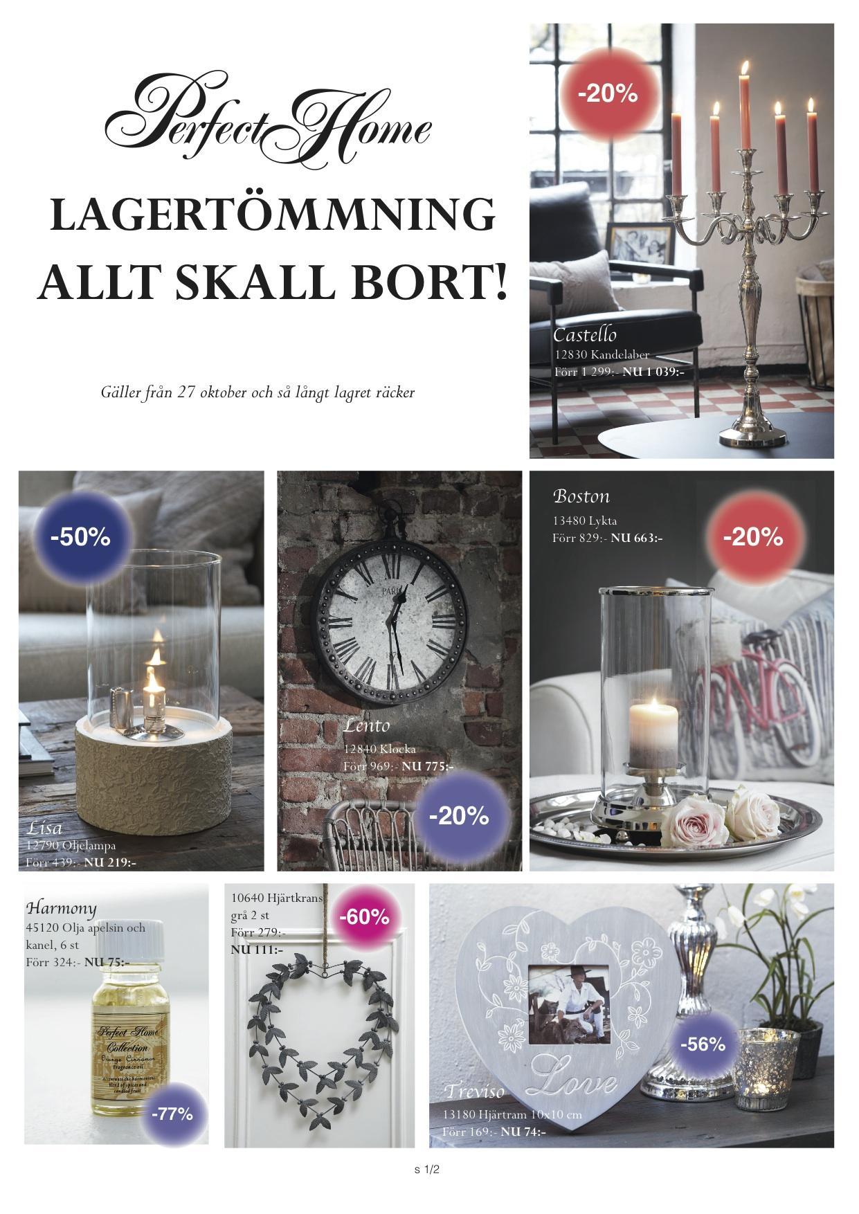 Perfect home Lagerrensning ALLT SKALL BORT!
