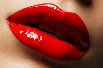 Sensuella läppar