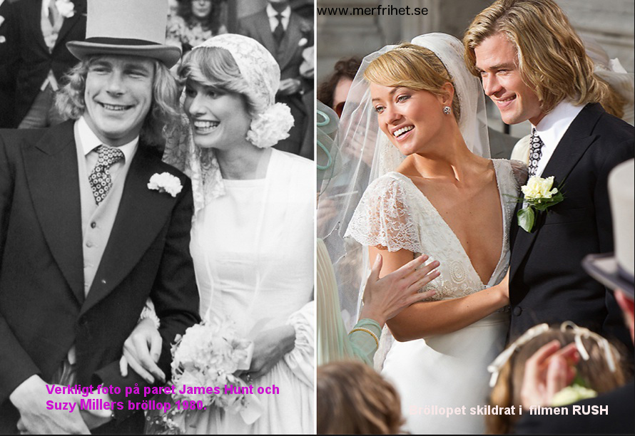 James Hunt wedding text