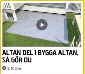 bygga Altan merfrihet