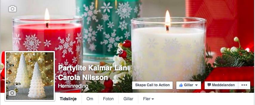 PartyLite 2015 Facebook