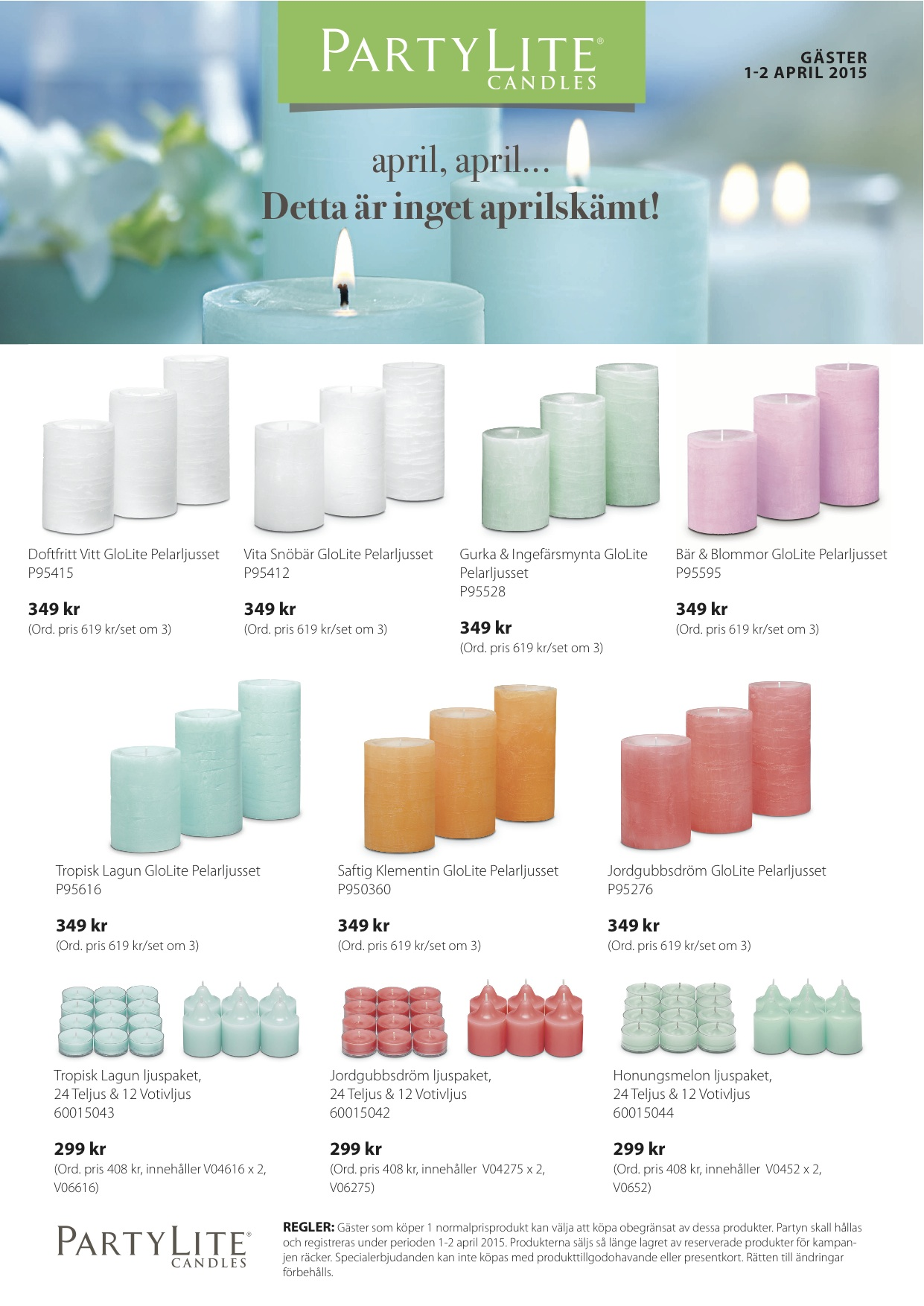 PartyLite 2015 April