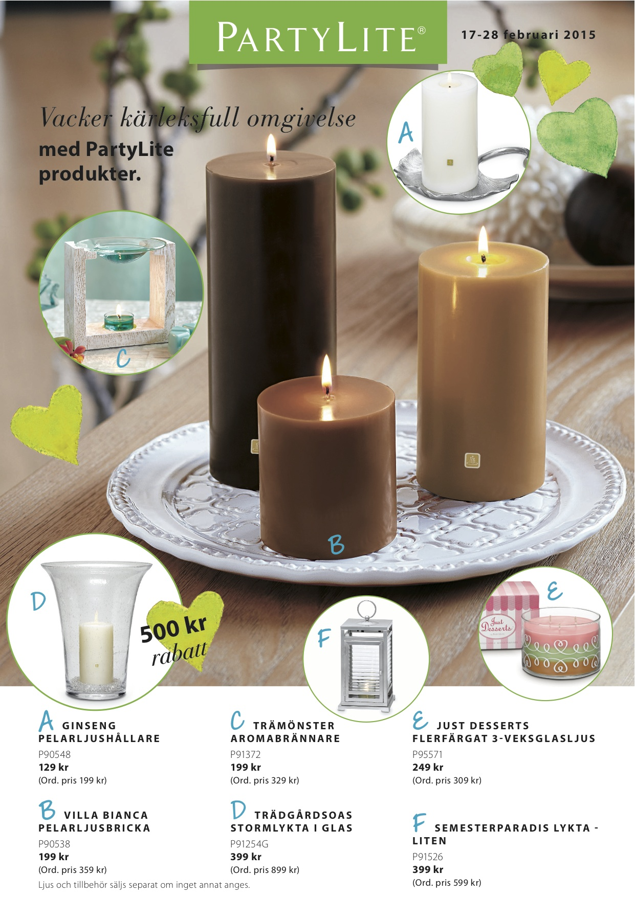 PartyLite 2015 FEBRUARY 17-28