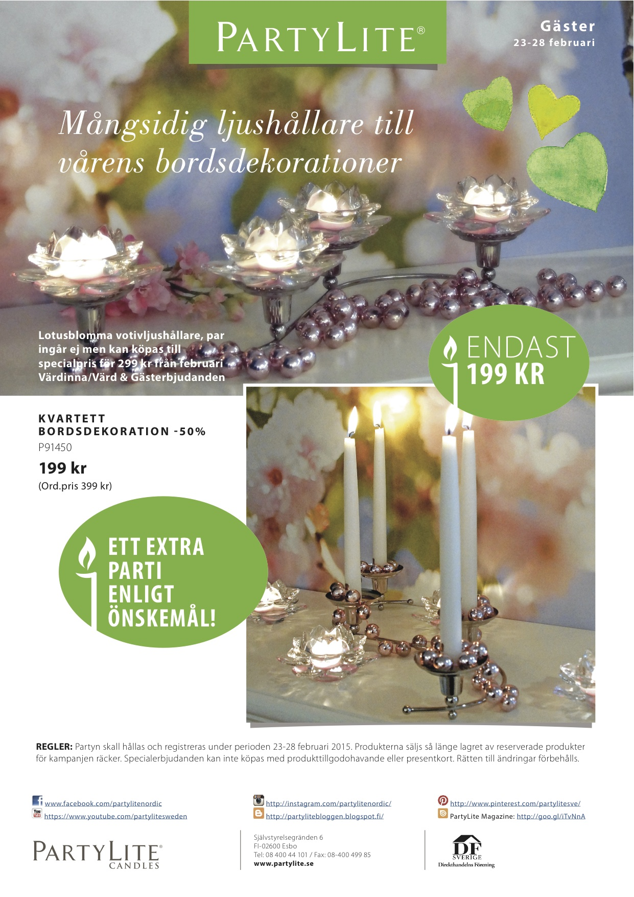 PartyLite 2015 FEBRUARY 23-28