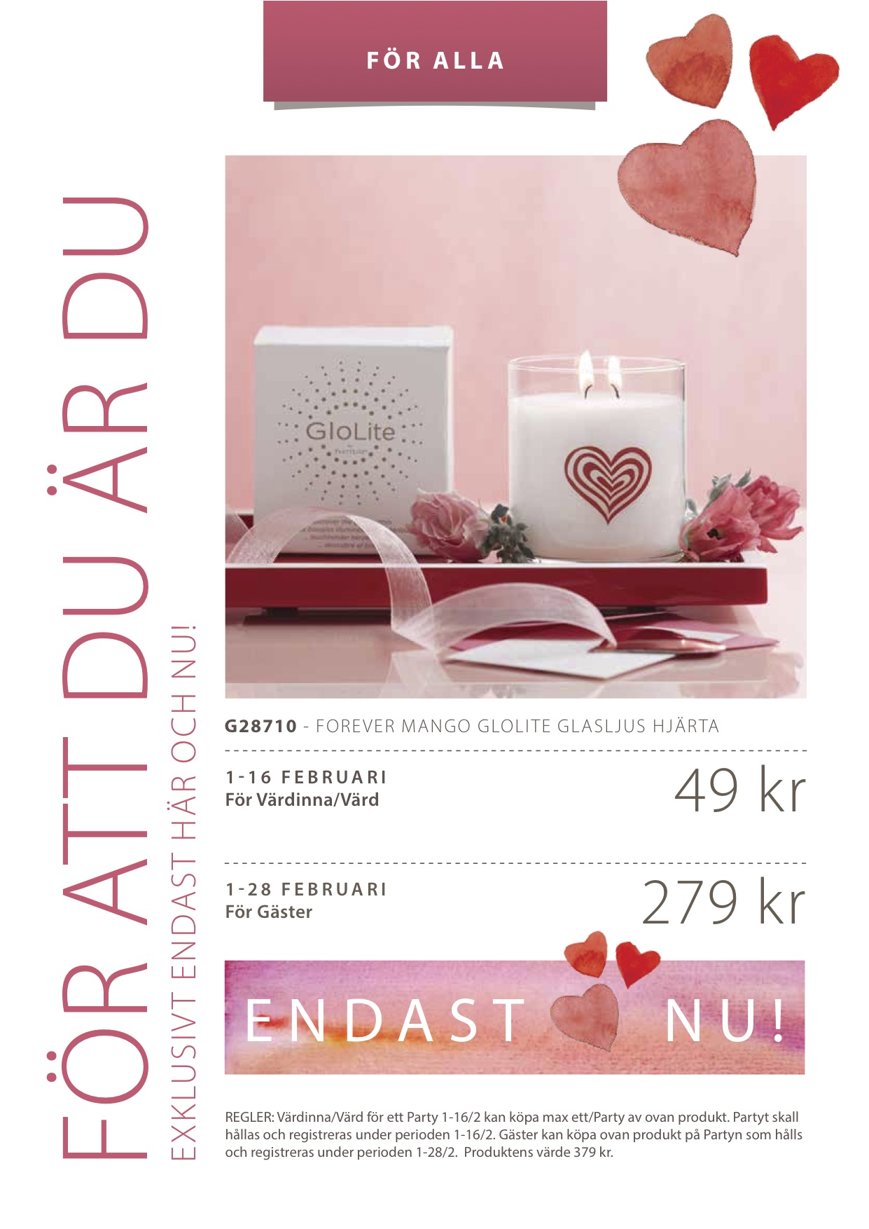 PartyLite 2015 FEBRUARY