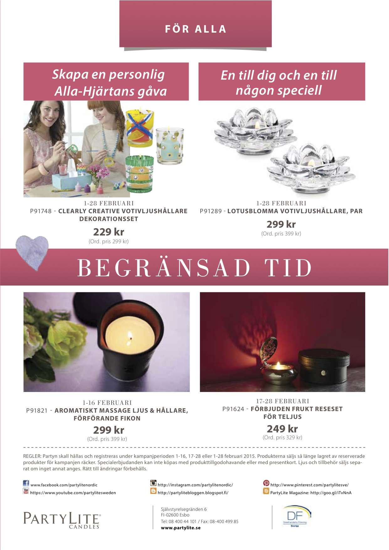 PartyLite 2015 FEBRUARY4