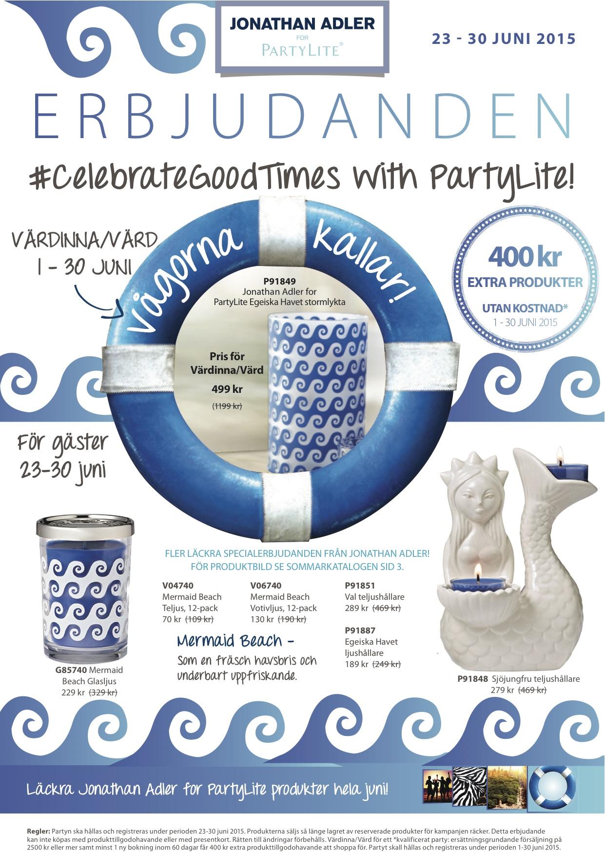 PartyLite June_23-30_JUNI_SWE