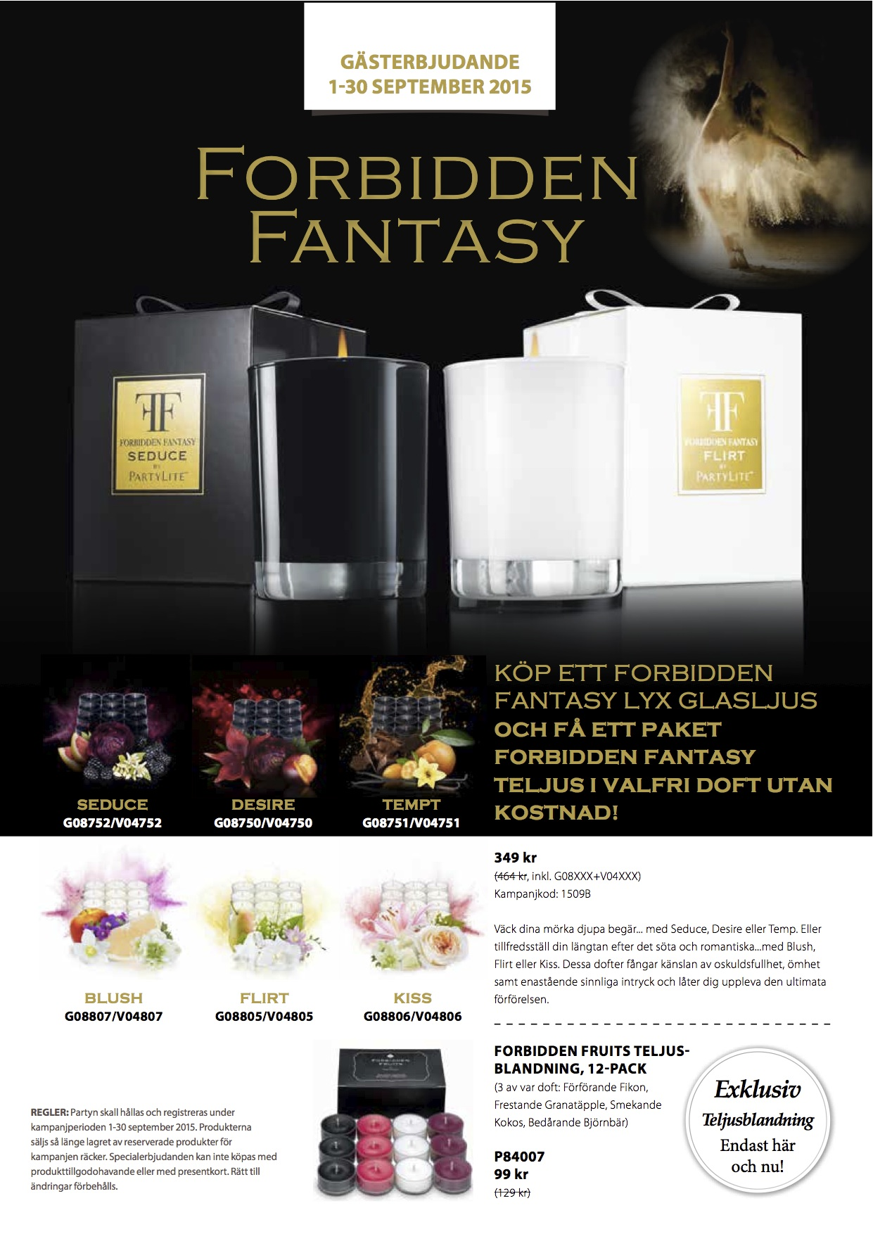 PartyLite forbidden sep 2015