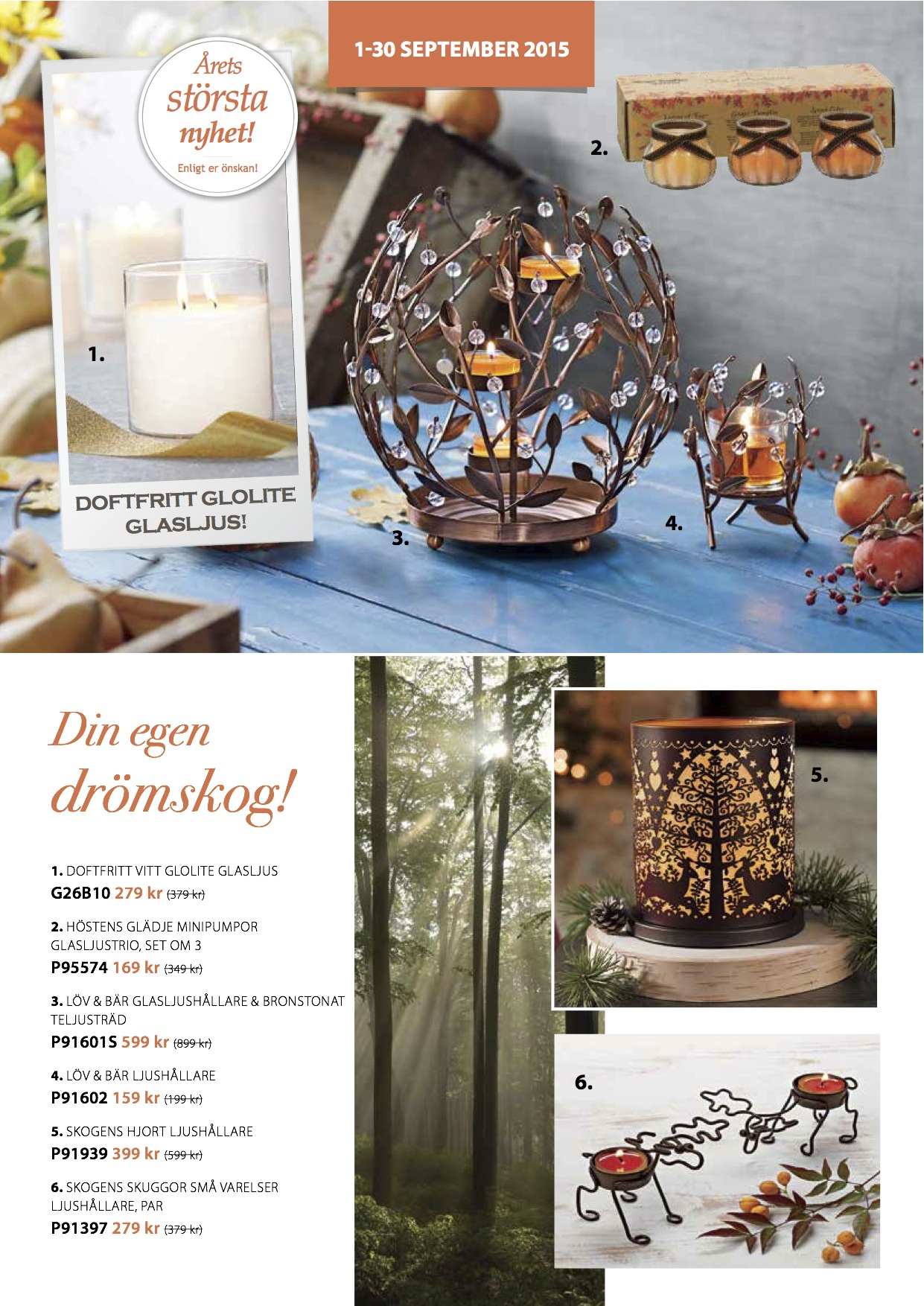 PartyLite september 2 2015