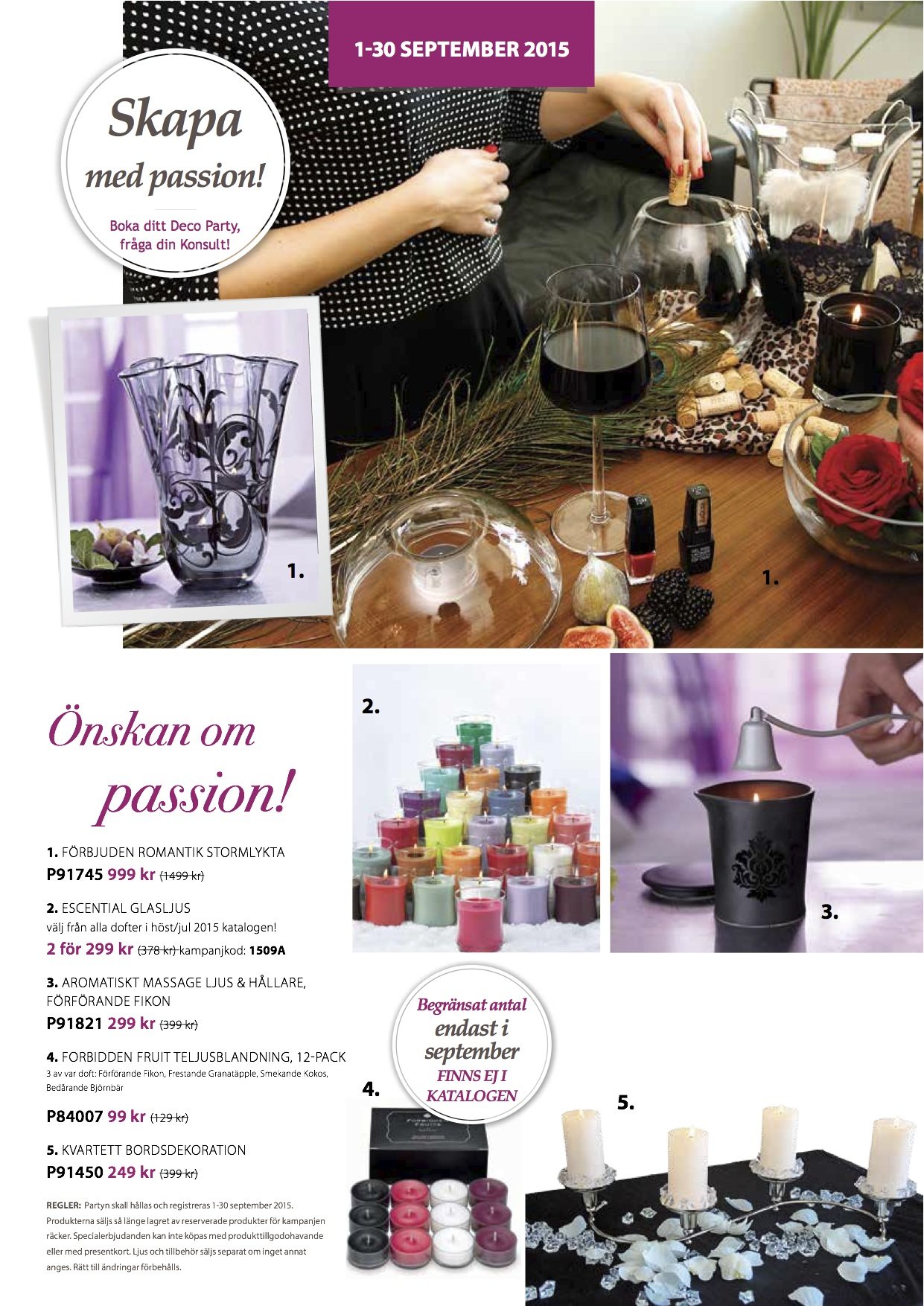 PartyLite september 2015