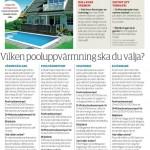 Poolvärmning - uppvärmning av pool -  Sett hos vi i villa 4.2013