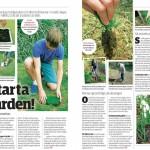 Kickstarta din trädgård -  Sett hos vi i villa 4.2013